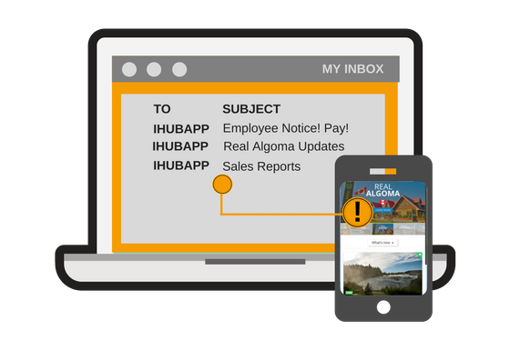 IHUBApp Post by Email Functionality Image.png